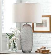 Regina Andrew Honeycomb Smoked Glass Lamp