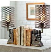 Regina Andrew Peacock Artifact Lamp