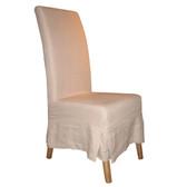 Furniture Classics Linen Slipcovered Parson's Chair