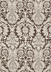 Anna Damask in Sable Brown