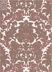 Melograno in Fuchsia / Grey