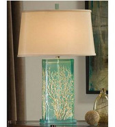 Regina Andrew Aqua-Translucent Table Lamp