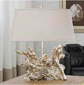 Regina Andrew Amber Silver-Root Lamp