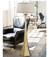 Regina Andrew Tapered-Gold Floor Lamp