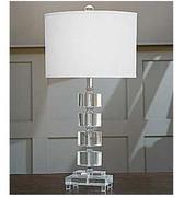 Regina Andrew Crystal Segmented Ovals Lamp