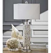 Regina Andrew Diamond Mother Of Pearl Square Column Lamp