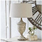 Regina Andrew Gesso-Wood Vase Lamp