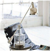 Regina Andrew Glass Step-Beaker Lab Lamp