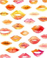 Lip Print II