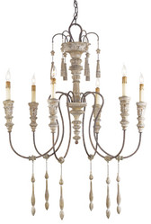 Currey & Company Hannah Chandelier, Small
