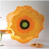 Poppy Plate-Orange-Lg