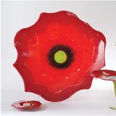 Poppy Plate-Red-Lg