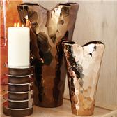 Bronze Nugget Vase