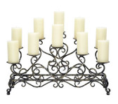 ANTIQUE FIREPLACE CANDELABRA