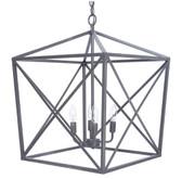 Satin grey Jackson lantern.