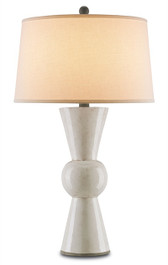 UPBEAT TABLE LAMP, ANTIQUE WHITE