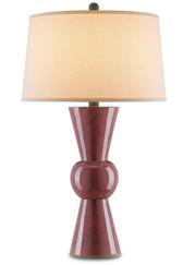 UPBEAT TABLE LAMP, VINTAGE PLUM