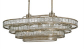FRAPPÉ OVAL CHANDELIER