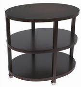 Arteriors Espresso Side Table