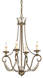 Currey & Company Anise Chandelier