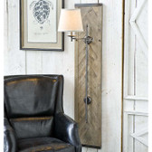 Regina Andrew Herringbone Swing-arm Sconce