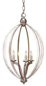 Currey & Company Bella Luna Chandelier, Small