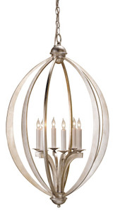 Currey & Company Bella Luna Chandelier, Large