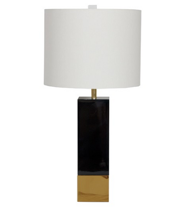 Harper BL table lamp from Worlds Away