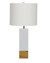 Harper WH table lamp from Worlds Away