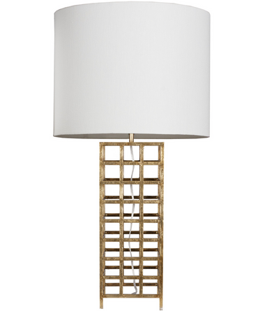 Sawyer G table lamp from Worlds Away