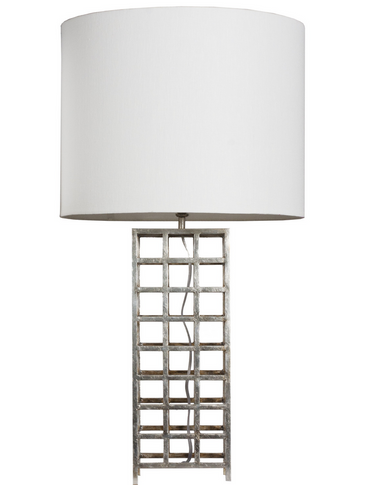 Sawyer S table lamp from Worlds Away