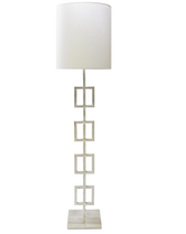 Quinn S floor lamp from Worlds Away