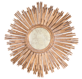 Worlds Away Margeaux G Mirror