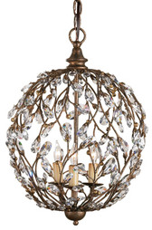 Currey & Company Crystal Bud Sphere