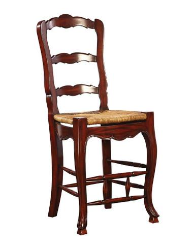 Ladder back counter stool