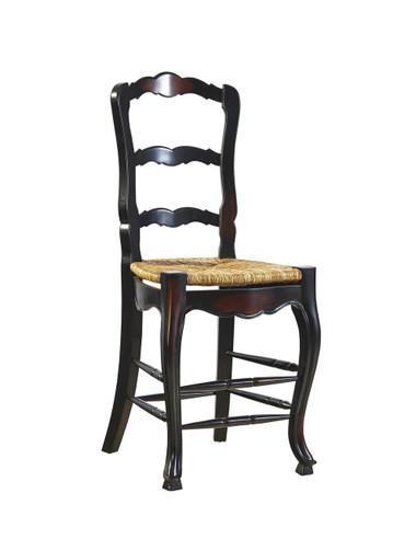 """Dark stain 24"""" counter stool"""
