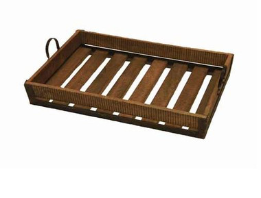 antique looking cargo serving tray by accessories abroad