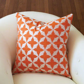 These classically designed pillows are available in an array of current and forward leaning fashion colors.