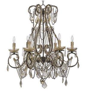 An elegant cecilia chandelier from Regina Andrew.