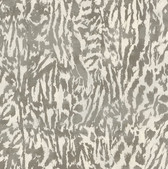 An exotic feline print wall covering by Schumacher.