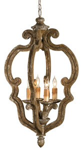 Currey & Company Chancellor Chandelier, Small