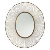Olympia Oval Mirror