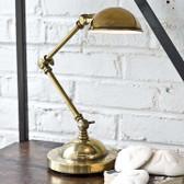 Regina Andrew Mini Task Lamp in Antique Brass