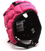 Samurai Contour Elite Head Guard - Hot Pink