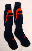 Samurai Pro Socks - Navy/Orange