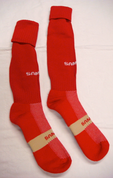 Samurai Pro Socks - Red/White