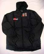 Samurai Full Zip Rain Top - Black