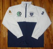 Rugby Ink - Derby Blues RFC - 1/4 Zip Track Jacket - LARGE