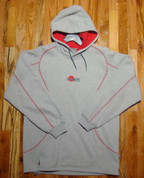 Samurai - Team Hoodie - Grey/Red - MEDIUM