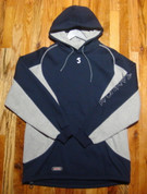 Samurai - Team Hoodie - Navy/Grey - LARGE